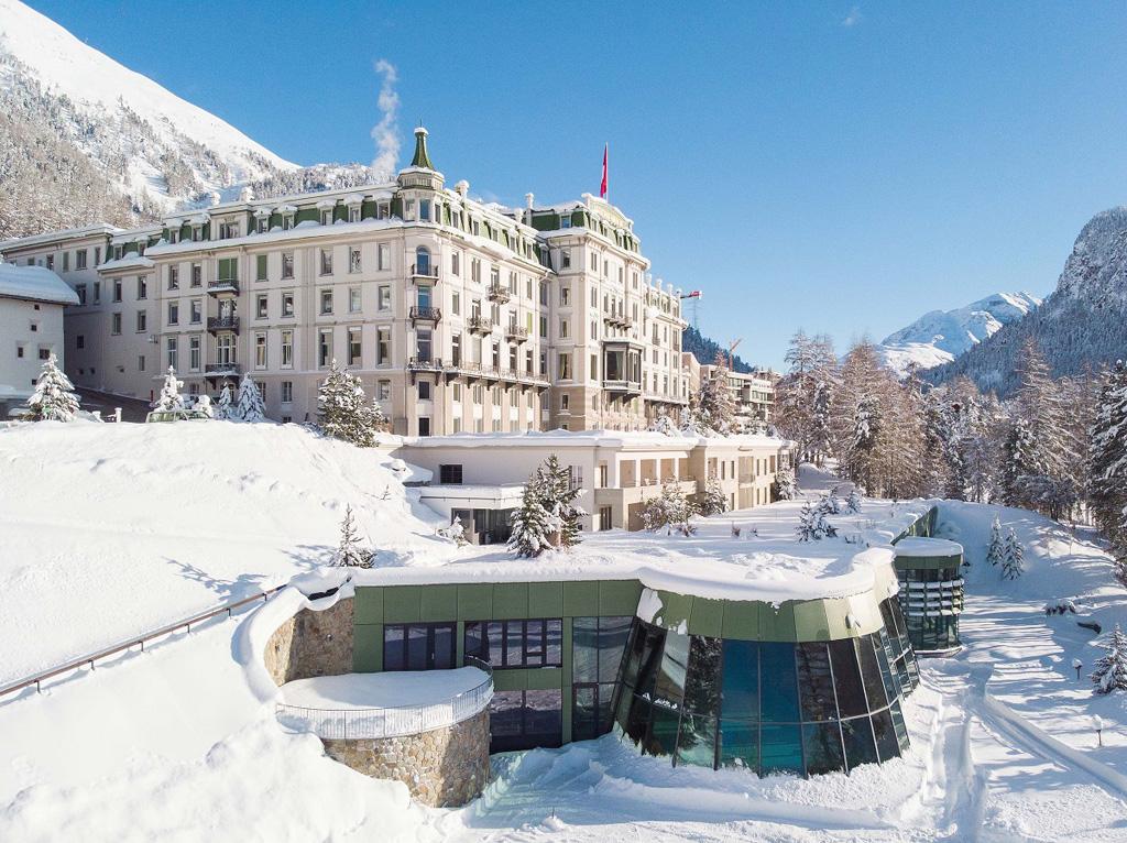Außenansicht Grand Hotel Kronenhof