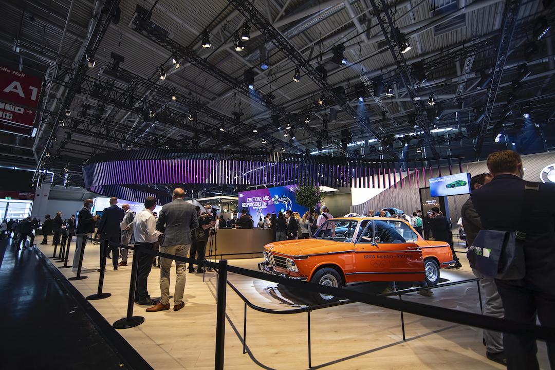 BMW-Messestand