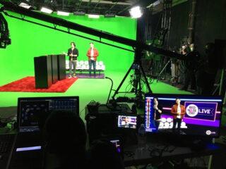 Studio mit ETC Panel