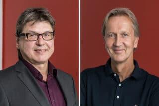 Hans Hermann Hönsch (l.) und Stefan Thomsen werden bei der TMT vor Ort sein.