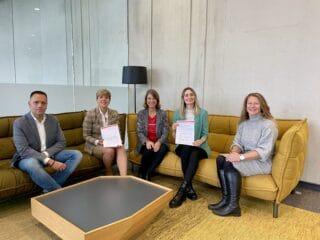 Arbeitsgruppe bestehend aus Vertreterinnen und Vertretern des FCB, der Messe Frankfurt, des Maritim Hotels Frankfurt sowie der Fraport AG