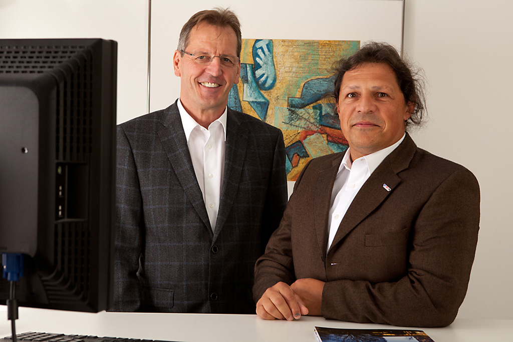 Claus Lohse und Erich Müller