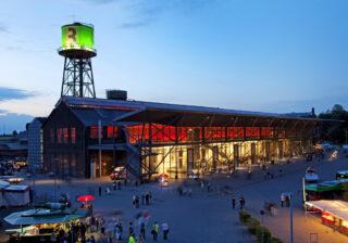 Außenansicht Jahrhunderthalle Bochum