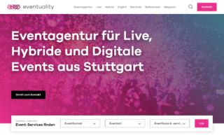Eventagentur aus Stuttgart - eventuality