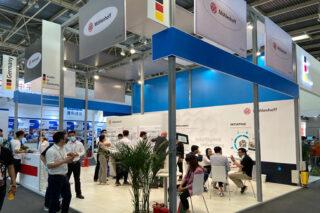 Deutscher Gemeinschaftsstand auf der ISH China 2021