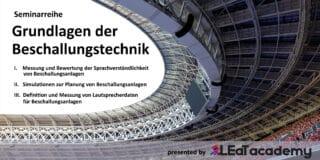 LEaT academy_Grundlagen der Beschallungstechnik_lv