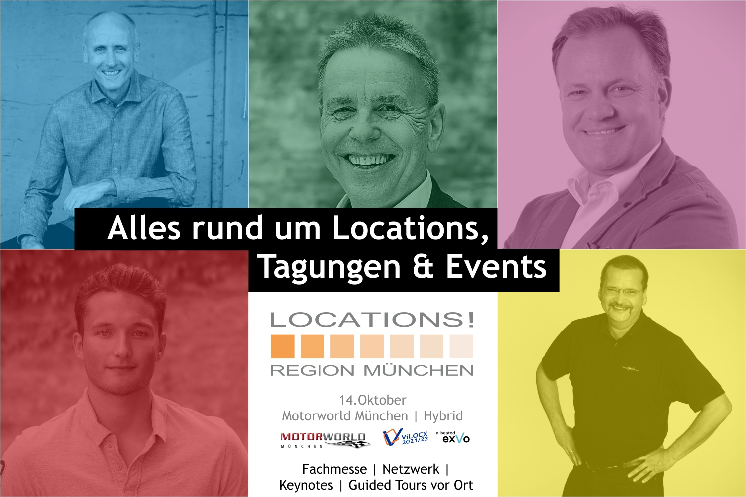Locations Messe München 2021