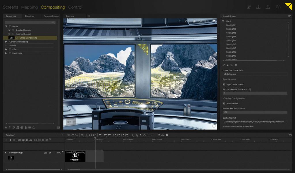 Screenshot Pixera Software
