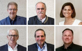 Die wiedergewählten degefest Vorstandsmitglieder 2021