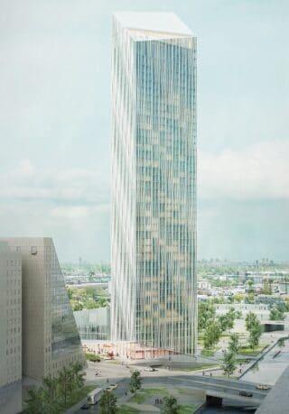 Estrel Tower außen