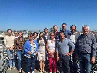 Das ready4future Konsortium und die Expert:innen der ÖSB beim zweiten Transnationalen Partner Meeting in Wien
